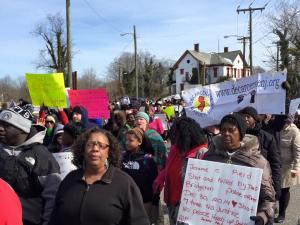 Bridgeton March (photo by Sean Wispy)