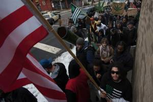 "Hundreds of Marijuana supporters took part in the ""Million Joint March"" in Trenton, NJ, on March 21, 2015. (Photo by Michael Karas of NorthJersey.com)"