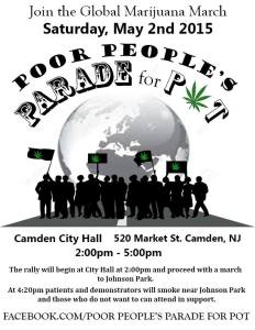 Global Marijuana March Rally May 2, Camden, NJ.