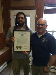 Weedman rewarded by the State Assembly with a Joint Resolution.