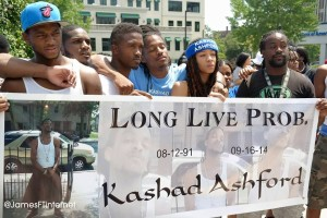 Kashad Ashford tribute. (Photo by James Woods)
