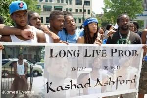 Kashad Ashford tribute. (Photo by James Woods)